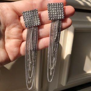 Jewelry - 2 for $18❤️ Flashy Chain Chain Earrings